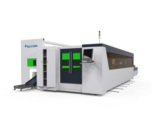 metalltoru ja plaatkiud kiire laserlõikamise masin 1500w pöörleva seadmega