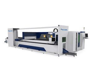 tööstuslike metalltorude laserlõikamismasin elektriajamiga sahtlistiil