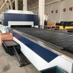 2kw cnc kiudlaserlõikur, vahetuslauaga laserlõikamise ja graveerimise masin