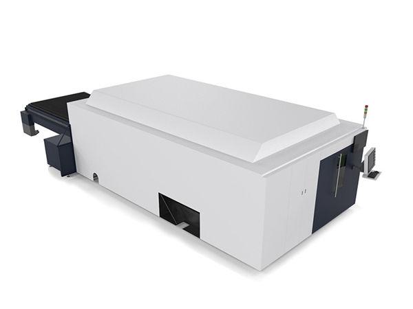 metallplekk / torud tööstuslik laserlõikusmasin kahemootoriline kallite cnc-süsteem