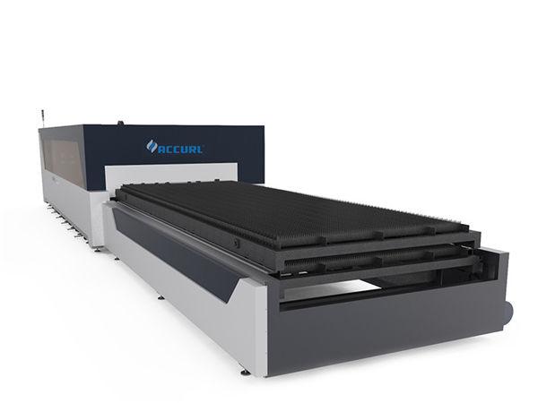 kahe ajamiga tööstuslik laserlõikusmasin 380v metallplaadi struktuuri jaoks