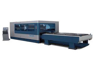 cnc metallist tööstuslik laserlõikusmasin 380v / 50hz 1kw 1,5kw laserallikas