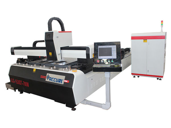 1000w 1500w lasermetalllõikur kerge terase jaoks, 45m / min lõikekiirus