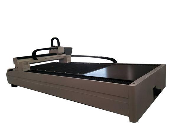 plaat / toru metallkiust laserlõikusmasin ühe töölauaga