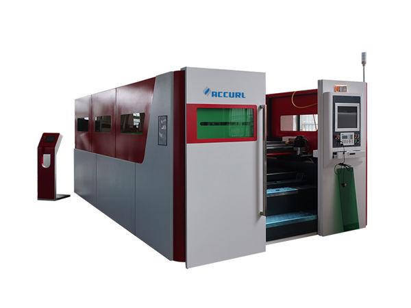 automaatne tööstuslik laserlõikusmasin kiire topeltvahetuslaud