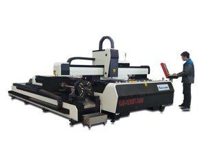 mini suure võimsusega laserlõikusmasin, fiiberlaserlõikamise seadmed vahetuslauaga