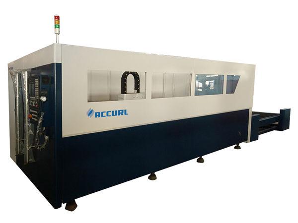 cnc kontrolli kiudlaseriga torude lõikamise masin, hõbedase kiudoptilise laserlõikur