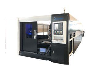 3000w kiust cnc lasermetalllõikamismasina pukseerimissüsteemiga topelt sõidu struktuur
